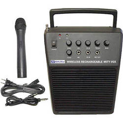 AmpliVox Sound Systems Mity-Vox - Portable Battery Powered PA System