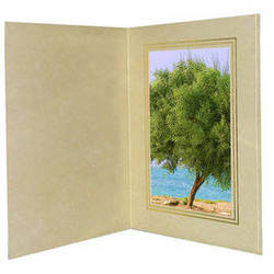 "B. Oshrin George 4x6"" Folder (Beige)"