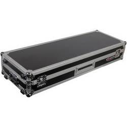 """Odyssey Innovative Designs FZDJ12W Flight Zone DJ 12"""" Mixer Turntable Coffin Case with Wheels"""