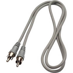 Bogen Communications RCA Male to RCA Male Audio Cable - 3'