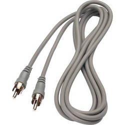 Bogen Communications RCA Male to RCA Male Audio Cable - 6'