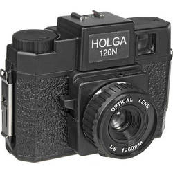 Holga 120N Medium Format Film Camera (Black)