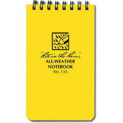 """Rite in The Rain All-Weather Pocket Notebook - 3x5"""""""
