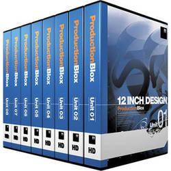 12 Inch Design ProdutionBlox HD 8-Pack Units 01 to 08 - DVD