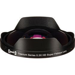 Opteka 62mm 0.3X HD Ultra Fisheye Lens Adapter