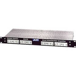 ATI Audio Inc DA416 - Quad 1x4 Distribution Amplifier with Clip Indicators