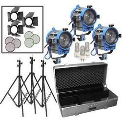 Arri 650W Fresnel Compact 3-Light Kit (230V)