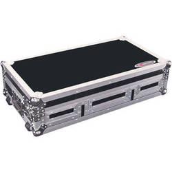Odyssey Innovative Designs FZ10CDJW Flight Zone DJ CD Mixer Controls Coffin with Wheels