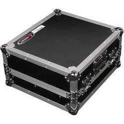 Odyssey Innovative Designs FZGS10 Flight Zone Glide Style Slanted Eight Space Combo Rack Case