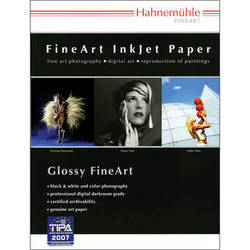 "Hahnemühle Baryta FB 17 x 22"" Paper - 350 GSM (20 sheets)"