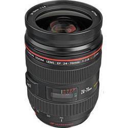 Canon Zoom Wide Angle-Telephoto EF 24-70mm f/2.8L USM Autofocus Lens