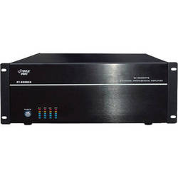 Pyle Pro PT8000CH 8-Channel Stereo/Mono Amplifier