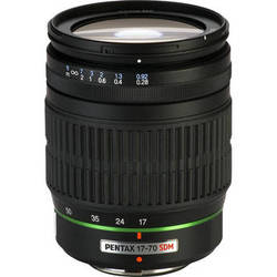 Pentax SMCP-DA 17-70mm f/4 AL (IF) SDM Autofocus Lens for Digital SLR