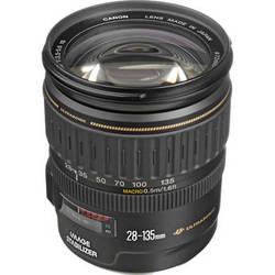 Canon EF 28-135mm f/3.5-5.6 IS Image Stabilizer USM Autofocus Lens (White Box)