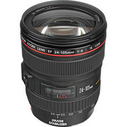 Canon EF 24-105mm f/4L IS USM Lens (White Box)
