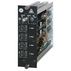 Meridian Technologies DT-4S-3FC Dual Slot Fiber Optic S-Video Transmitter