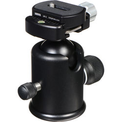 Kirk BH-3 Ballhead with Quick Release - Supports 15 lb (6.8kg)