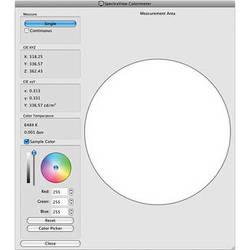 NEC SpectraView II Display Calibration Software