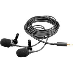 Microphone Madness MCSM-4 Stereo Lavalier Microphone