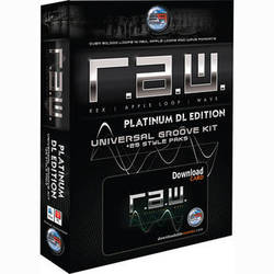 Sonic Reality R.A.W. DL Platinum Edition Universal Groove Kit (Download)
