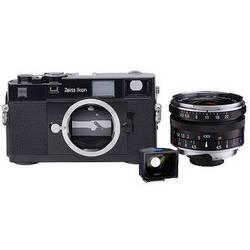 Zeiss Ikon Rangefinder 35mm Film Camera, 21mm f/4.5 C Biogon T* ZM Lens, 21mm ZI Viewfinder Kit (Black)