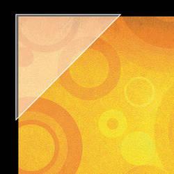 "Lineco Polypropylene Mounting/Framing Corners (Standard View, 3"", 100 Pack)"