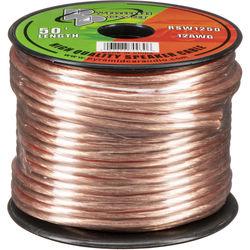 Pyramid High Quality 12 Gauge Speaker Zip Wire (50' Spool)