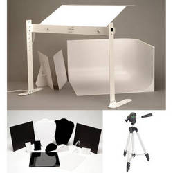 MyStudio Tabletop Photo Studio w/ Jewelry Kit