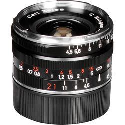 Zeiss Super Wide Angle 21mm f/4.5 C Biogon T* ZM Manual Focus Lens - Black