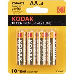 Kodak AA 1.5v Ultra Digital Oxy-Alkaline Battery (4 Pack)