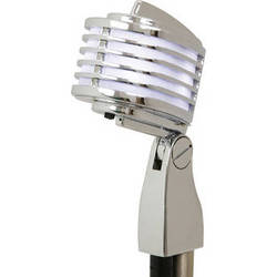 Heil Sound The Fin Dynamic Chrome Vocal Microphone (White LEDs)