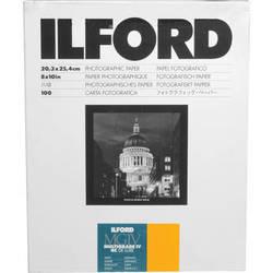 "Ilford Multigrade IV RC DeLuxe Paper (Satin, 8 x 10"", 100 Sheets)"