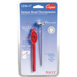 """General Brand 1"""" Stainless Steel Darkroom Dial Thermometer"""