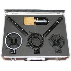 Cascade Microphones V57 Microphone Bundle (Gold)
