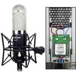 Cascade Microphones Vin-Jet Long-Ribbon Microphone with Lundahl Transformer