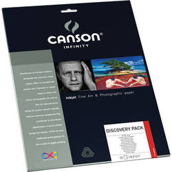 """Canson Infinity Discovery Pack (8.5 x 11"""", Letter, 12 Sheets)"""