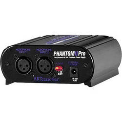 ART PHANTOM II Pro - Battery Operated Phantom Power Supply