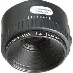 Rodenstock 40mm f/4 Rodagon-WA Enlarging Lens