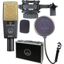 AKG C414 XLII Multi-Pattern Large-Diaphragm Condenser Microphone