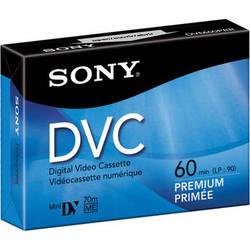Sony DVM-60PR Premium Mini DV Cassette (60 Minute)