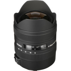 Sigma 8-16mm f/4.5-5.6 DC HSM Ultra-Wide Zoom Lens for Select Canon EOS SLRs