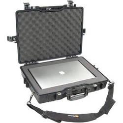 Pelican 1495 Laptop Computer Case with Foam (Black)