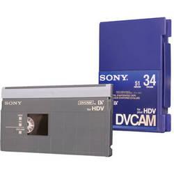 Sony PDV-34N/3 DVCAM for HDV Tape