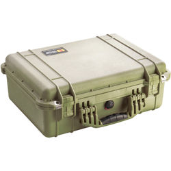 Pelican 1520NF Case without Foam (Olive Drab Green)