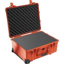 Pelican 1560 Case with Foam Set (Orange)