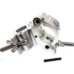 Global Truss Heavy Duty Dual Swivel Clamp for 50mm Tubing (Silver)