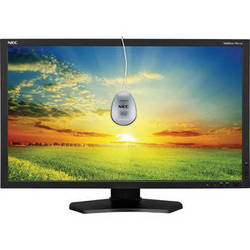 """NEC MultiSync PA271W-BK-SV 27"""" Widescreen LCD Monitor with SpectraViewII Color Calibration Solution"""