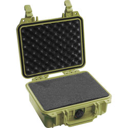 Pelican 1200 Case with Foam (Olive Drab Green)
