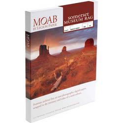 "Moab Somerset Museum Rag 300 (8.5 x 11"", 25 Sheets)"