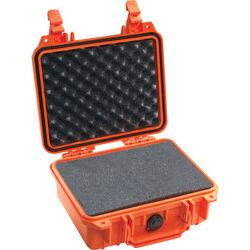 Pelican 1200 Case with Foam (Orange)